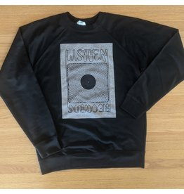 Listen Listen Black/Grey Block Sweatshirt