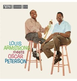 Verve Armstrong, Louis & Oscar Peterson: Louis Armstrong Meets Oscar Peterson (Acoustic Sounds Series) LP