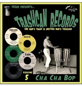 Stag O Lee Various: Trashcan Records Vol. 5 - Cha Cha Bop 10""