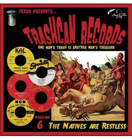 Stag O Lee Various: Trashcan Records Vol. 6 - The Natives are Restless 10""