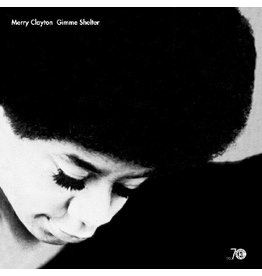 """Real Gone Clayton, Merry: Gimme Shelter (Limited Black & White """"Gray Eye"""" Vinyl Edition) LP"""