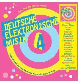 Soul Jazz Various: Deutsche Elektronische Musik 4 LP