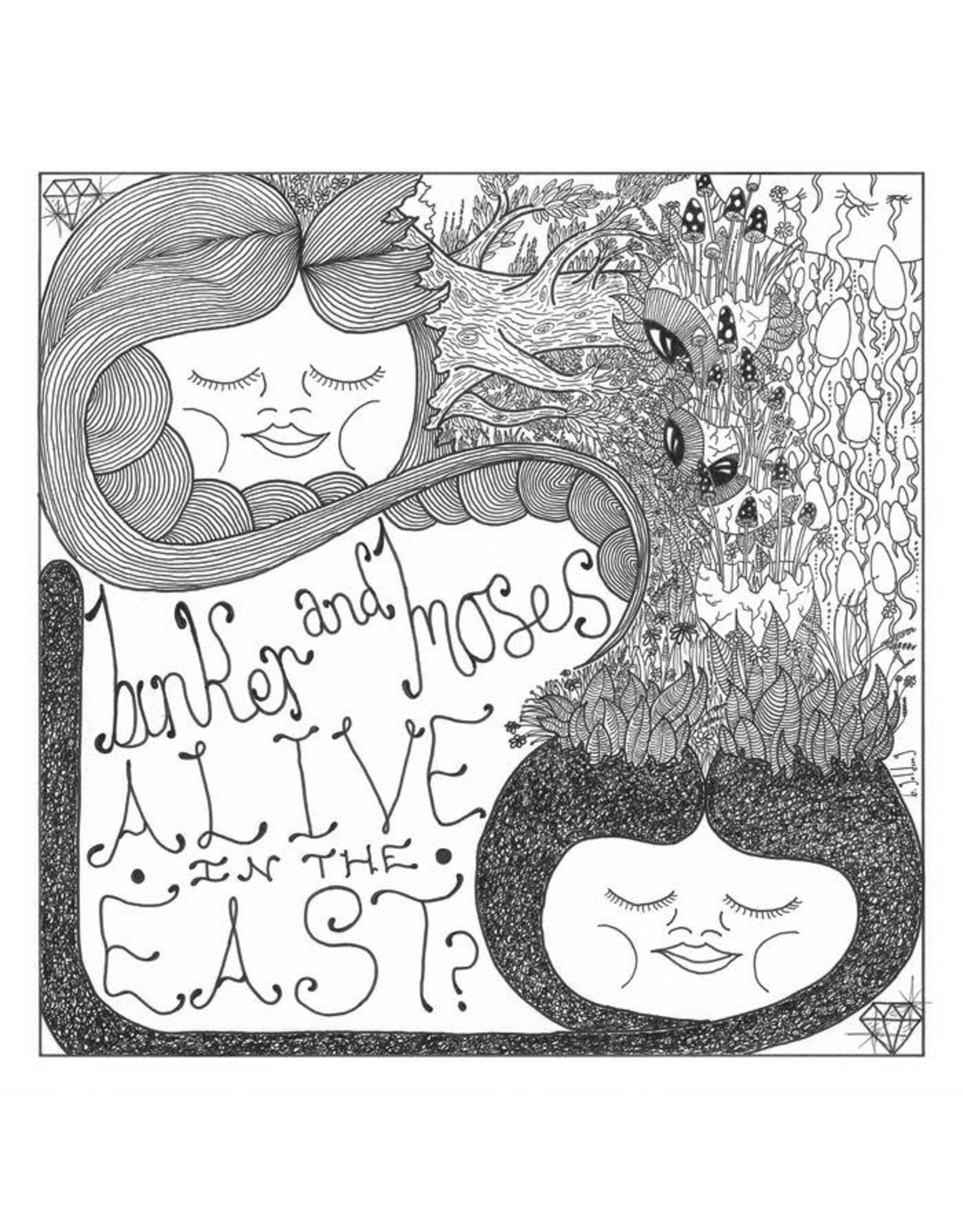 Gearbox Binker & Moses: Alive In The East? LP