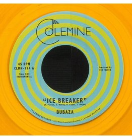 Colemine Bubaza: Ice Breaker (orange vinyl) 7""