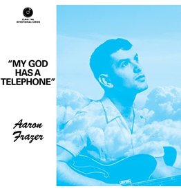 Colemine Frazer, Aaron: My God Has A Telephone (blue vinyl) 7""