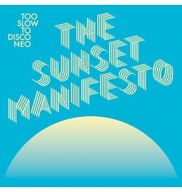 How Do You Are? Various: Too Slow to Disco NEO: The Sunset Manifesto (BLUE & YELLOW) LP