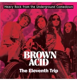 Riding Easy Various: Brown Acid - The Eleventh Trip LP