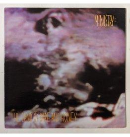 USED: Ministry: Land of Rape & Honey LP