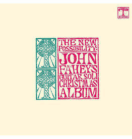 Fantasy Fahey, John: The New Possibility: John Fahey's Guitar Soli Christmas Album LP