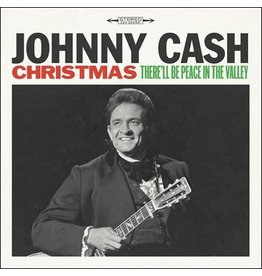Columbia Cash, Johnny: Christmas - There'll Be Peace in the Valley LP
