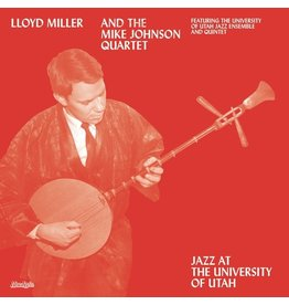 Now Again Miller, Lloyd: Jazz At The University of Utah LP