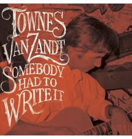 Chicken Ranch Van Zandt, Townes: Somebody Wrote It LP