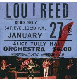 Legacy Reed, Lou: Live At Alice Tully Hall LP