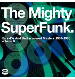 BGP Various: Mighty Super Funk: Rare 45's And Undiscovered Masters 1967-1978 LP