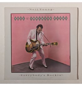USED: Neil Young & The Shocking Pinks: Everybody's Rockin LP