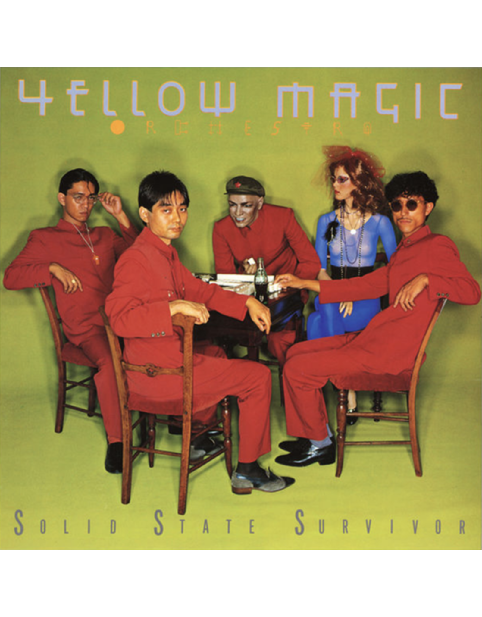 Great Tracks Yellow Magic Orchestra: Solid State Survivor (Colour) LP