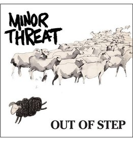 Dischord Minor Threat: Out Of Step LP