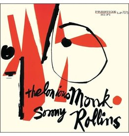 Prestige Monk, Thelonious & Sonny Rollins: Thelonious Monk & Sonny Rollins (translucent blue vinyl) LP