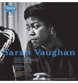 Verve Vaughan, Sarah & Clifford Brown: Sarah Vaughan (Acoustic Sounds Series) LP