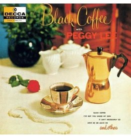 Verve Lee, Peggy: Black Coffee (Acoustic Sound Series/1956) LP