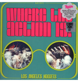Rhino Various: Where The Action Is! Los Angeles Nuggets LP