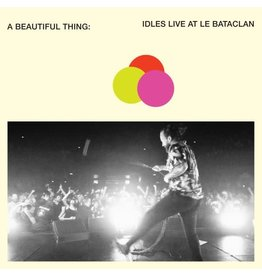 Partisan Idles: A Beautiful Thing : Idles Live at Le Bataclan (2LP neon clear orange) LP