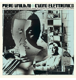 Four Flies Umiliani, Piero: L'uomo Elettronico: Cosmic Electronic Environments from an Italian Synth Music Maestro (1972-1983) LP