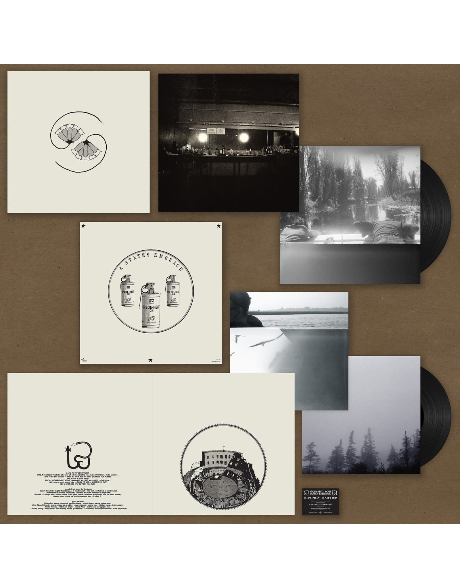Constellation Godspeed You! Black Emperor: G_d's Pee AT STATE'S END! LP