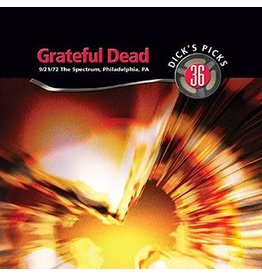 Real Gone Grateful Dead: Dick's Picks Vol. 36—The Spectrum, Philadelphia, PA 9/21/72 BOX