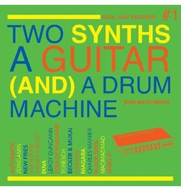 Soul Jazz Various: Two Synths, A Guitar, (and) a Drum Machine: Post Punk Dance LP