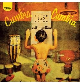 World Circuit Various: Cumbia Cumbia 1 & 2 LP