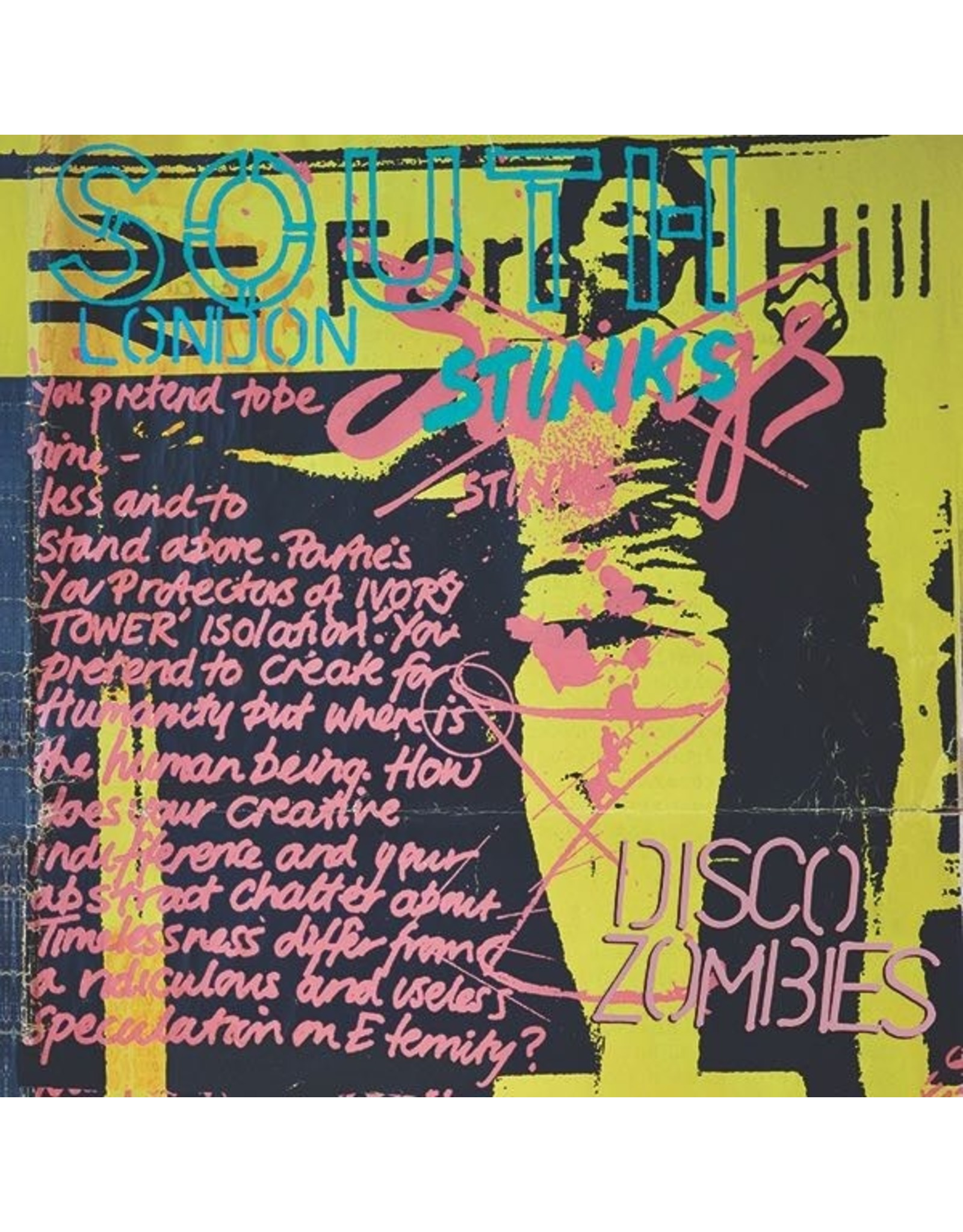 Optic Nerve Disco Zombies: South London Stinks LP