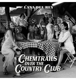 Interscope Del Rey, Lana: Chemtrails Over the Country Club (indie shop edition) LP