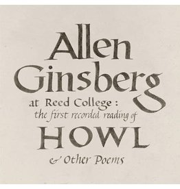 Omnivore Ginsberg, Allen: At Reed College: The First Recorded Reading of Howl and Other Poems LP