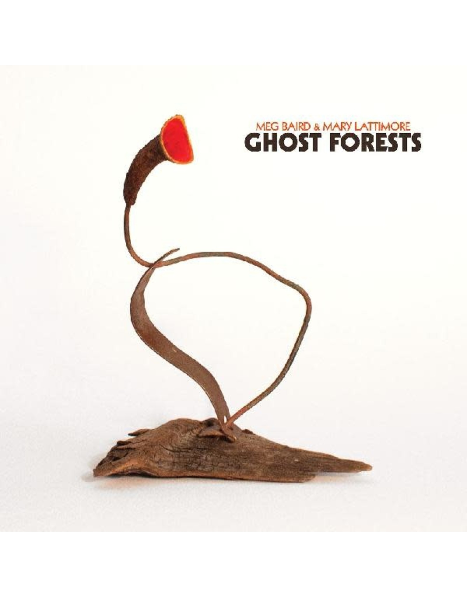 Three Lobed Baird, Meg And Mary Lattimore: Ghost Forests (COKE BOTTLE CLEAR) LP
