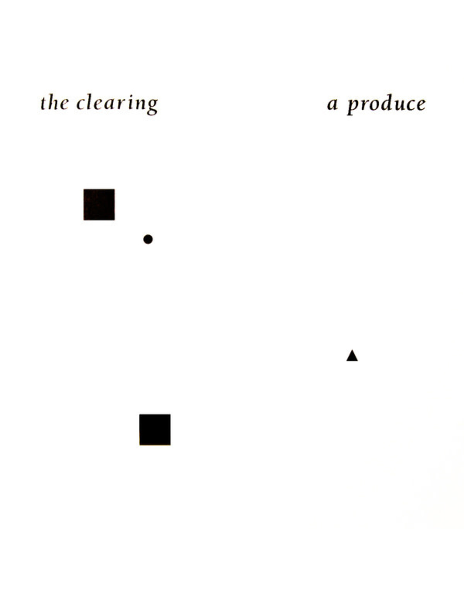 All Night Flight A Produce: The Clearing LP