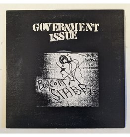 """USED: Government Issue: Boycott Stabb 12"""""""