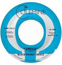 "Colemine Black Market Brass: Omega (coloured) 7"""