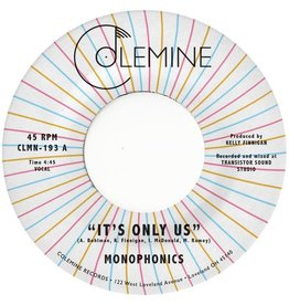 """Colemine Monophonics: It's Only Us (coloured) 7"""""""