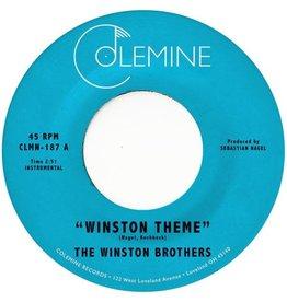 "Colemine Winston Brothers: Winston Theme (coloured) 7"""