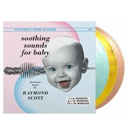 Music on Vinyl Scott, Raymond: Soothing Sounds For Baby Vols. 1-3 (3LP-180g/coloured vinyl) LP