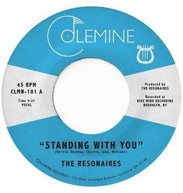"Colemine Resonaires: Standing With You (opaque orange) 7"""