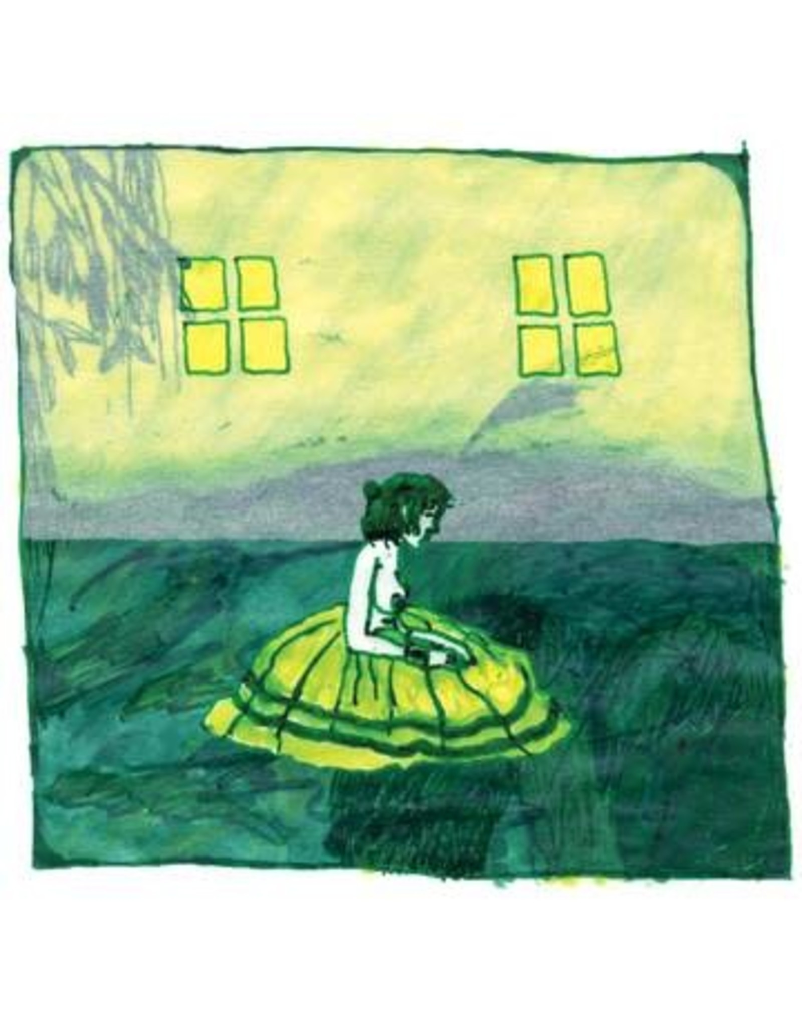 Domino Animal Collective: 2021RSD1 Prospect Hummer (GREEN AND YELLOW STARBURST) LP