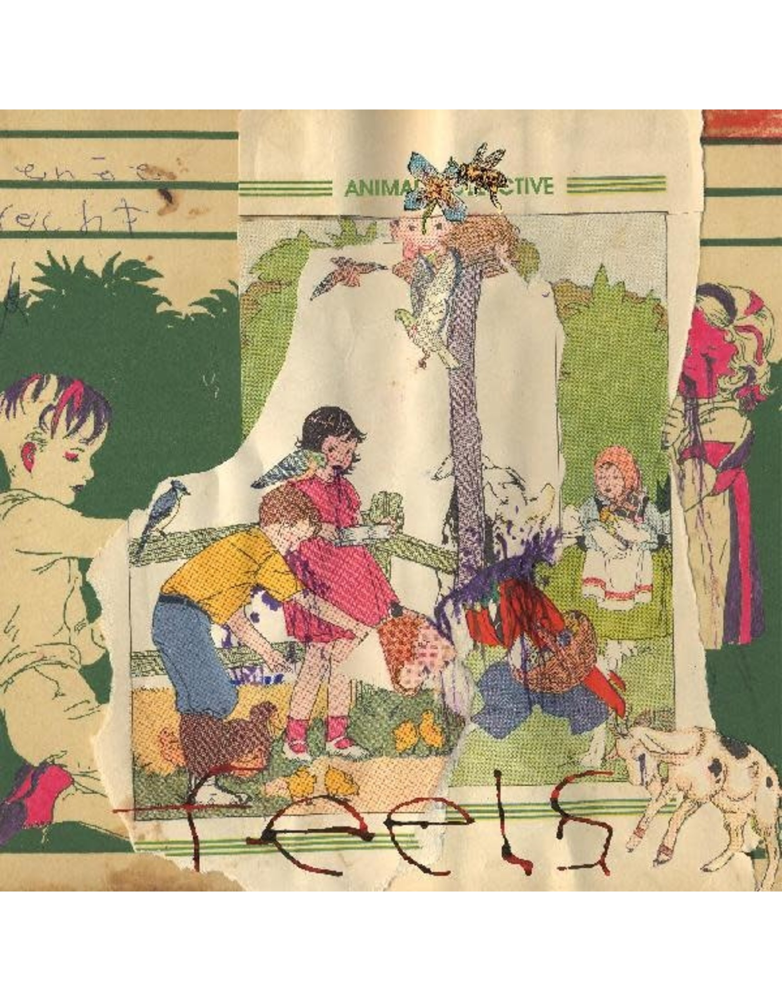 Domino Animal Collective: Feels LP