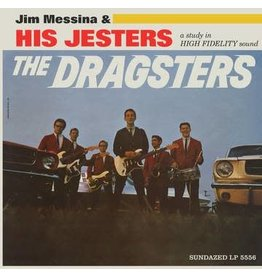 Sundazed Messina, Jim & His Jesters: 2021RSD1 - The Dragsters (BLUE) LP