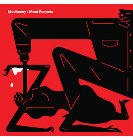 Sub Pop Mudhoney/Meat Puppets: 2021RSD1 - Warning/One Of These Days LP