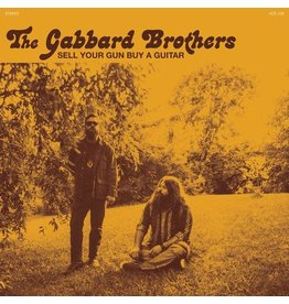 """Karma Chief Gabbard Brothers: Sell Your Gun Buy A Guitar (teal) 7"""""""