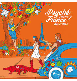 Warner Various: 2021RSD1 - Psych France Vol 7 LP