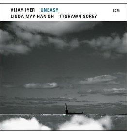 ECM Iyer, Vijay: Uneasy (trio with Linda May Han Oh & Tyshawn Sorey) LP