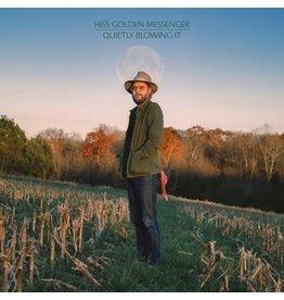 Merge Hiss Golden Messenger: Quietly Blowing It (Peak Vinyl indie shop version/blue) LP